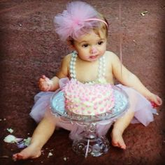 This will be such a cute first birthday picture for Madisyn!