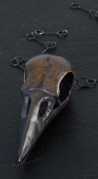 Katherine Ely, Bird Skull Locket