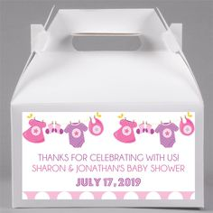 Girls Clothesline Baby Shower Favor Boxes, Girls on Amazing Baby Photo 485 Baby Shower Decorations Neutral, Gender Neutral Baby Shower, Baby Shower Favors, Baby Shower Invitations, Gender Reveal Party Invitations, Baby Banners, Unicorn Baby Shower, Newborn Toys, Clothes Line