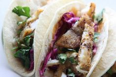 The fish tacos from Hungry Heart & Whole Brewing Company.