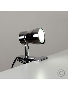 Clip-on LED Daylight GU10 Spotlight Chrome