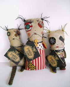 dolls by Junker Jane