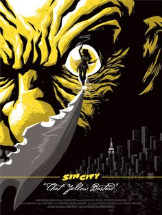 Sin City Poster Triptych by Florey, via Behance