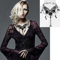 Victorian Gothic Steam Punk Rock Fashion Jewelry Necklaces - Liquiwork