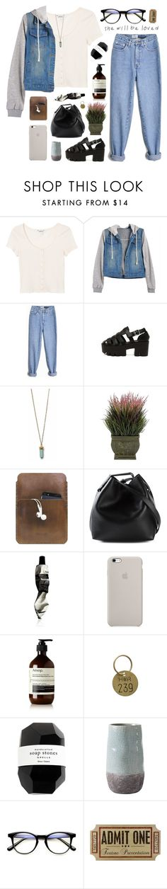 """ItGirl 1 // temporary fix"" by ruthaudreyk ❤ liked on Polyvore featuring Quinny, Nearly Natural, Palila, 3.1 Phillip Lim, Aesop, Jayson Home, Cassia and Torre & Tagus"