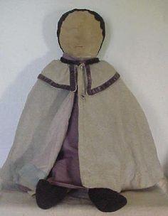 19th C Pa Amish Rag Doll
