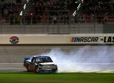 Ben Rhodes claims first Truck win in thrilling race at Las Vegas #NASCAR