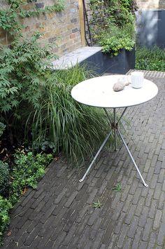 Miria Harris Garden Design London and Floristry Design London | Gardens - Vande Moortel Belgium Bricks on edge http://www.vandemoortel.co.uk/