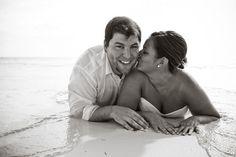 Dreams Riviera Cancun beach wedding, love this photo idea. Perfect for us!