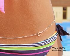 Sterling Silver Belly Chain Body Chain
