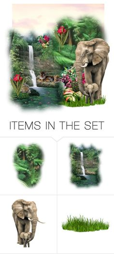 """Jungle"" by shays22 ❤ liked on Polyvore featuring art"