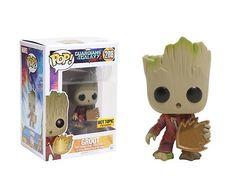 Groot - Guardiões da Galáxia Vol. 2 - Funko POP Marvel HOT TOPIC EXCLUSIVO
