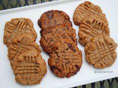 Gourmet Girl Cooks: Easy Peanut Butter Cookies