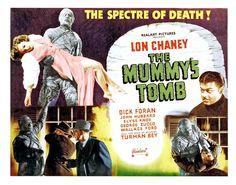 The Mummy's Tomb Lobby Card Horror Movie Posters, Horror Films, Film Posters, Mummy Movie, Lon Chaney Jr, The Spectre, Guy, Classic Horror Movies, Cinema