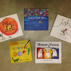 Some of My Favorite Art Books for Reading Aloud