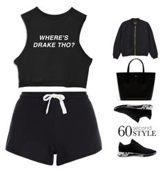 """""""Views"""" by ashola18 ❤ liked on Polyvore featuring New Look, Monki, adidas, Lacoste, DRAKE, views, polyvorecontest and 60secondstyle"""