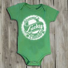 St Patricks Day baby. Baby boy onsies. Baby One Piece. St Patrick's Day onesie. St. Paddys day shirt. Baby girl. Green onsie. Lucky Charm