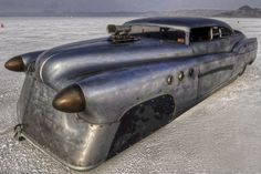 Bombshell Betty 1952 Buick Riviera Bonneville Land Speed Racing Jeff Brock