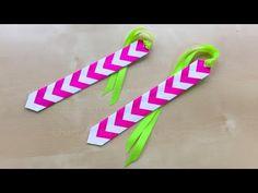 Lesezeichen selber machen - Einfaches DIY Geschenk basteln mit Papier - Papier flechten & falten - YouTube