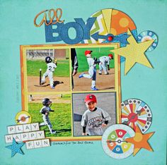 All Boy - Scrapbook.com