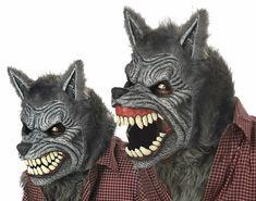 Animated werewolf mask