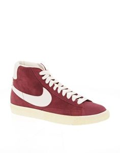 Nike Blazer Mid in Burgundy via ASOS - $123.13