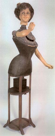 Antique mannequin circa 1900
