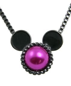 Disney fans will be delighted to wear this cool piece around town. Inspired by beloved classics and legendary characters, it adds familiar flair and playful style to any outfit.17'' longMetalImported