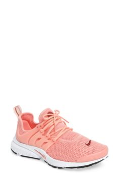 Free shipping and returns on Nike 'Air Presto' Sneaker (Women) at Nordstrom.com. Crisp, clean and ready for the streets, a retro-futuristic runner boasts a breathable stretch-mesh upper, vibrant color and a signature molded TPU support cage. Even after 15 years, the Nike Air Presto is still turning heads.