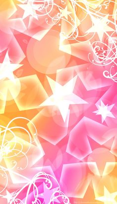 Background pink and yellow