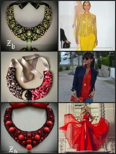 Z'ett bijou statement necklace