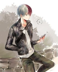 My Hero Academia My Hero Academia Shouto, Hero Academia Characters, Hot Anime Boy, Cute Anime Guys, Fanarts Anime, Manga Anime, Cute Gay, Ken Tokyo Ghoul, Handsome Anime