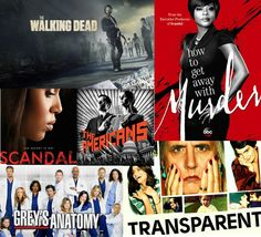Currently watching these shows