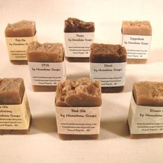 wow - homebrewed beer soap