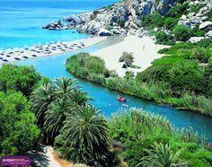 Moni Preveli beach, Crete