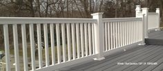 Deck Railings from BuildDirect - Wood, Vinyl, Glass & Aluminum Rails