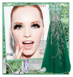"""""""It is Easy being Green ..."""" by krusie ❤ liked on Polyvore featuring Jimmy Choo, Lancôme, Georges Hobeika, Tom Ford, Fantasia by DeSerio, Lagos, men's fashion and menswear"""