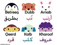 #ARABE #ANIMALES
