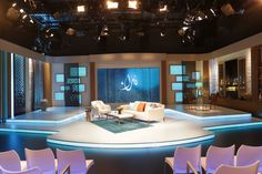 tv set design, talk show, studio design, woman programme, esra akbulut, Nida show