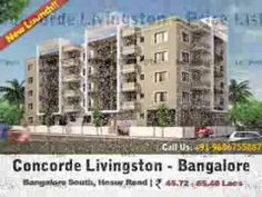 Concorde is coming up with a admirable residential project Concorde Livingston apartments in the form of 2/3BHK (1129 - 1615 Sqft.) at Kudlu Gate, Bangalore - Hosur Road.