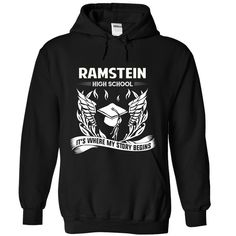 (Tshirt Coupons) Ramstein High School Its where my story begins Facebook TShirt 2016 Hoodies, Funny Tee Shirts