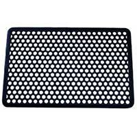 Multy Home LP 1000033 Rubber Hexagon Doormat by Multy Home LP. $11.63. Durable and long lasting, this multipurpose vinyl mat is popular for uses throughout the home, both indoor and out. Weather resistant. Easy to clean. Hexagon pattern. Color: Black. Dimensions: 16'' x 28''.