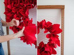 DIY Valentine's Day Heart Backdrop | Little Peanut Magazine