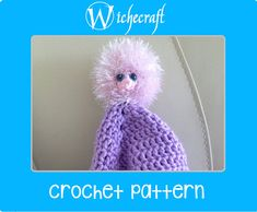 PDF PATTERN  Harry Potter Pygmy Puff Lovey Security Blanket
