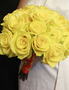 Yellow rose bouqet