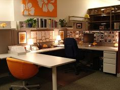 {epiphany living}: How to decorate your cubicle at work... Cubicle plant ideas