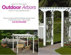 Arbors and Pergolas - Garden Arbors, Patio Pergolas, Wedding Arbors