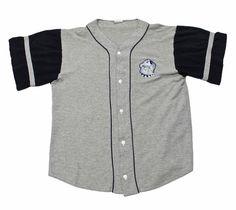 Vintage 1980s Georgetown Hoyas Baseball Jersey Mens Size Medium $35.00