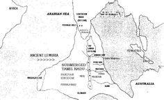 Map of ancient Lemuria