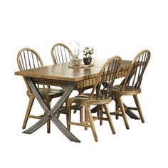 1400gbp Stag Maltings Extending Dining Table & 4 Dining Chairs